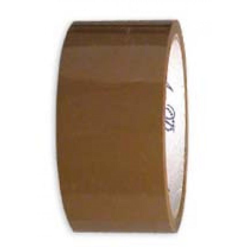 Упаковочный скотч, коричневый 50мм-50м