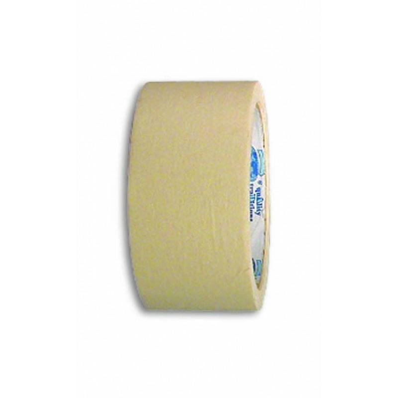 Креповая защитная лента стандартного качества 50мм-25м