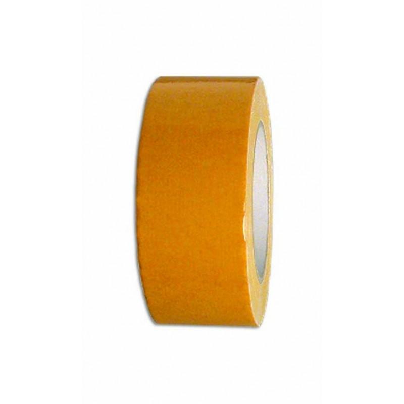 Двусторонняя клеящая лента на тканевой основе 50мм-25м
