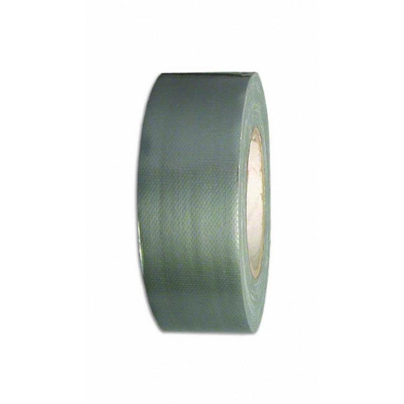 Серебряная тканевая лента для ремонтных работ, клей из натурального каучука, высокая клейкость 50мм-50м