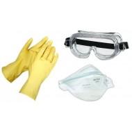 Распираторы, очки, каски, перчатки  (54)