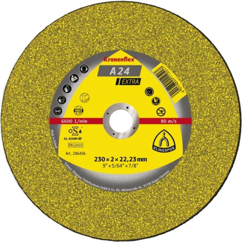 180X2X22,23 A 24 EX отрезные диски KT/EXTRA/A24EX/S/GER