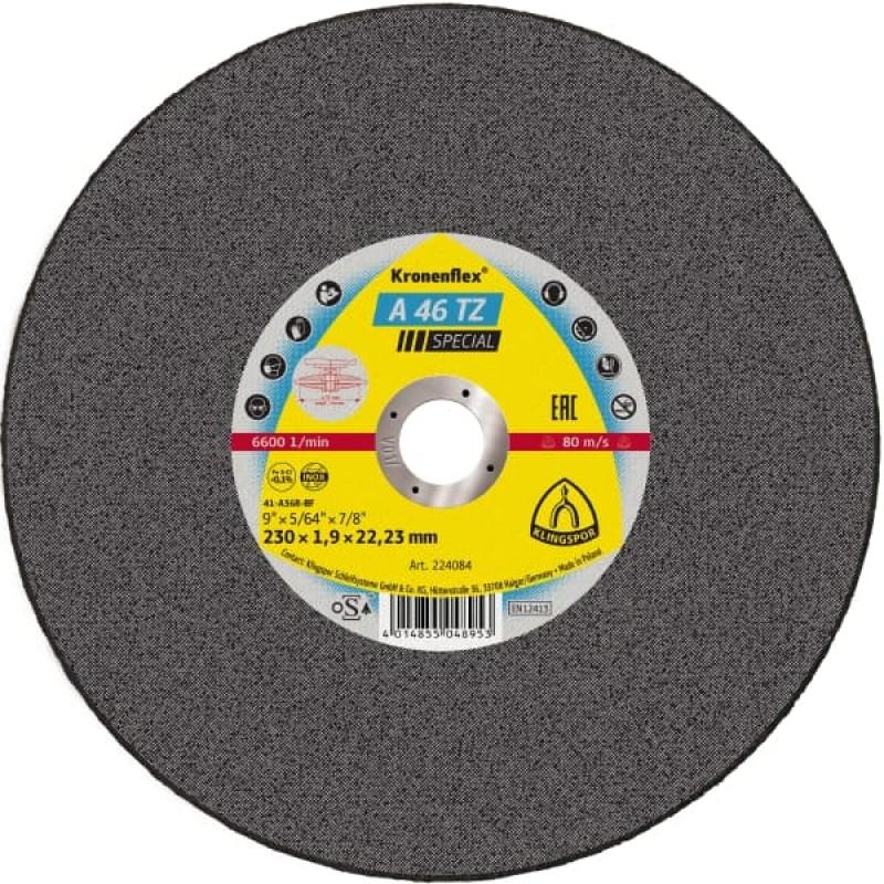 230X1,9X22,23 A 46 TZ отрезные диски KT/SPECIAL/A46TZ/S/GER